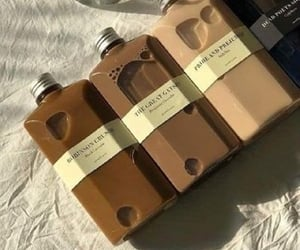 aesthetic, brown, and drink image