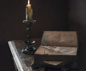 book and dark image