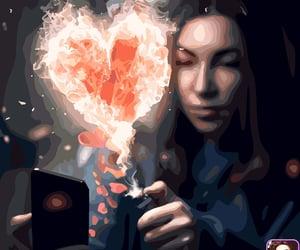 burn, color palette, and fantasy image