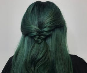 aesthetic, beauty, and colored hair image
