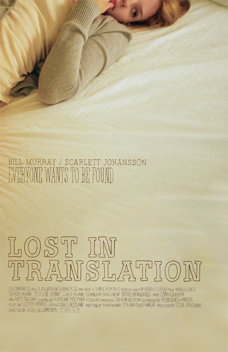 lost in translation, movie, and Scarlett Johansson image