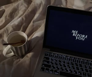 laptop, movie, and aesthetic image