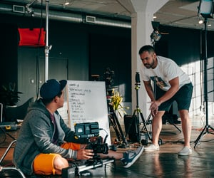 fitness content creators, live fitness production, and fitness services agency image