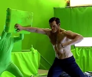 DC, Henry Cavill, and justice league image