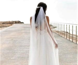 wedding, aesthetic, and wedding dress image