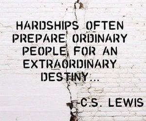 cs lewis, hardships, and extraordinary destiny image