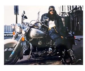 1996, aesthetic, and motorbike image