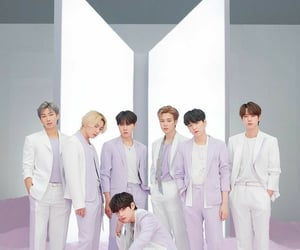 aesthetic, boys, and purple image