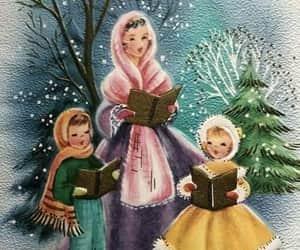 christmas, ilustraciones, and navidad image