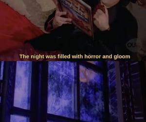 90s, gloom, and gomez addams image