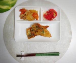 今日の夕飯 and 初めて作ったアジフライ image