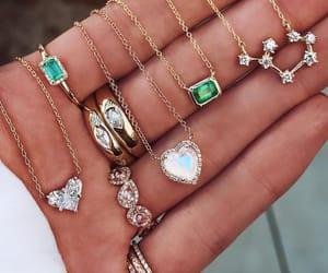 bijoux, Blanc, and green image