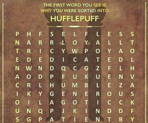crossword, humble, and hufflepuff image
