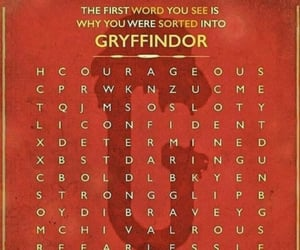 bold, fearless, and gryffindor image