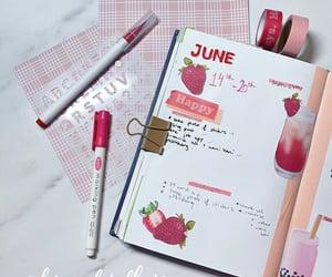 boba tea, bubble tea, and journal image