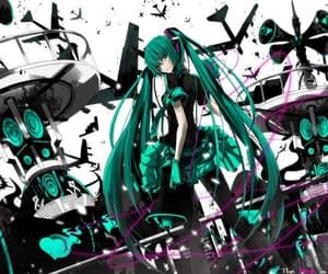 anime, vocaloid, and hatsune miku image