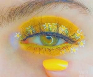 art, eyes, and nail image
