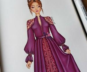 arte, dibujo, and elegancia image