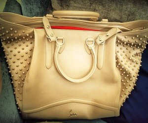 bag, louboutin, and christian louboutin image