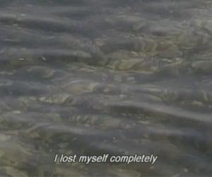 lost, sad, and myself image