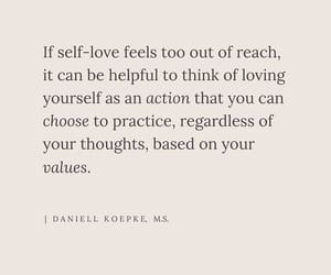loving yourself, mental health, and self love image