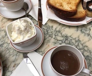 aesthetic, breakfast, and france image