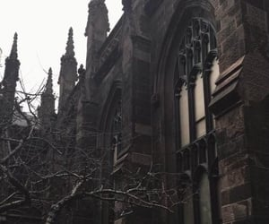 dark, aesthetic, and architecture image