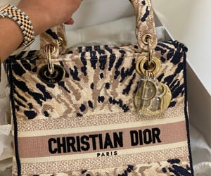 Christian Dior and lady dior image