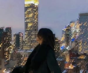 aesthetic, blogger, and city lights image
