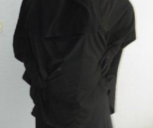 niqab, veiled woman, and jilbab image