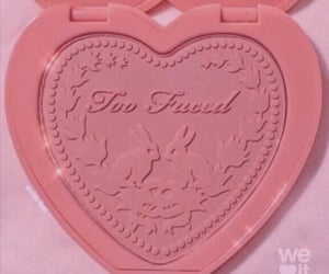 cosmetic, heart, and pink image