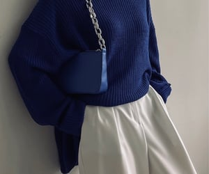 aesthetic, blue, and classy image