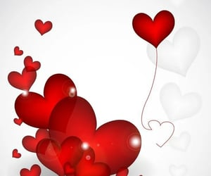 balloons, I Love You, and love forever image