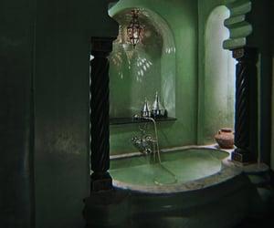 green, bath, and bathroom image