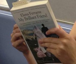 book, my brilliant friend, and elena ferrante image
