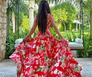 fashion, Flowy, and hair image