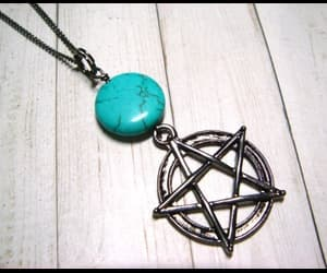 turquoise, witchy, and wiccan image