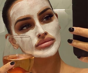 face mask and selfcare image