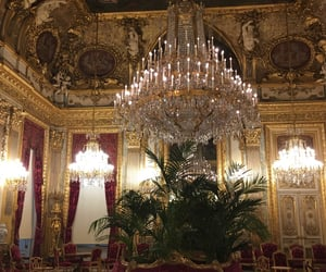 chic, gold, and louis xvi image
