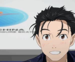 anime, yuri on ice, and gif image