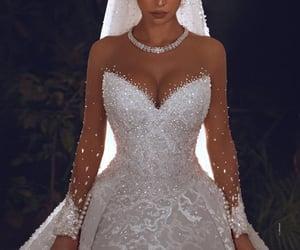 style, wedding, and dress image