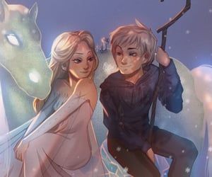 animation, disney, and jack frost image