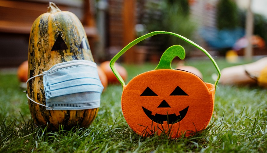 article and Halloween image