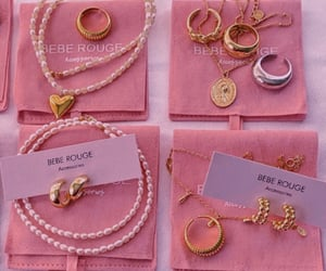 jewerly and pink image