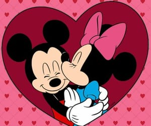 disney, girlie, and minnie image