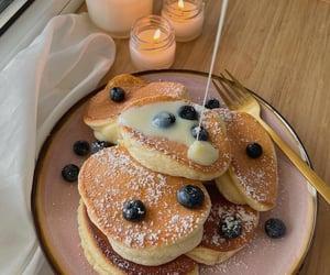 food, dessert, and pancakes image