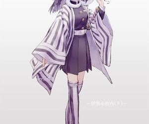 anime, demon slayer, and anime girl image