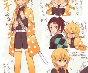anime girl, anime, and demon slayer image