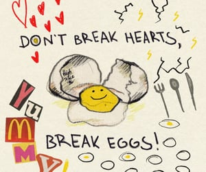 art, quotes, and eggs image
