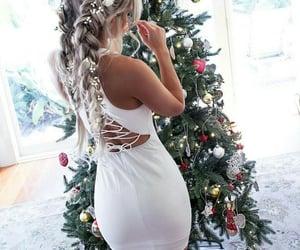 hair and christmas image